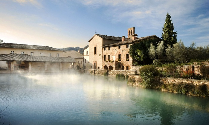 Albergo le terme a bagno vignoni toscana groupon getaways for O bagno vignoni