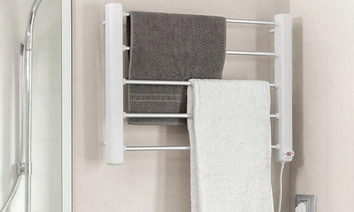 porte serviettes mural innovagoods groupon. Black Bedroom Furniture Sets. Home Design Ideas