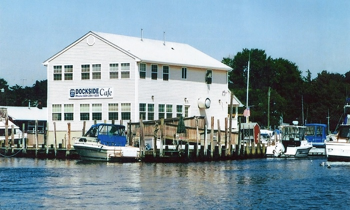 Dockside Cafe - Tuckerton: Breakfast or Lunch Food for Two at Dockside Cafe (Up to 45% Off). Three Options Available.