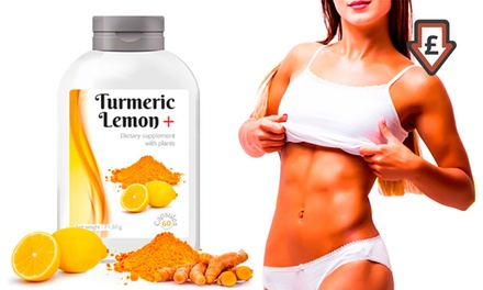 Up to 720 Cure Turmeric Lemon Supplement Capsules