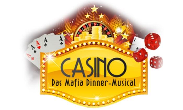 """Theater auf Tour - Dinnershows - Mehrere Standorte: Ticket für das Mafia-Musical """"Casino"""" inkl. Show und 4-Gänge-Menü von März bis Juni in 29 Städten (bis zu 37% sparen)"""