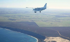 Geraldton Air Charter: Abrolhos Islands Tour for One ($252) or Shipwreck Tour for Four ($1,260) with Geraldton Air Charter (Up to $1,400 Value)