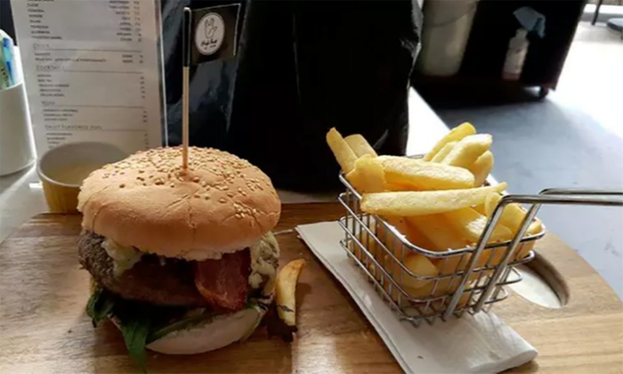 High Five Cafe  Bar - Central: $15 for $30, or $25 for $50 to Spend on Food and Drinks at High Five Cafe Bar