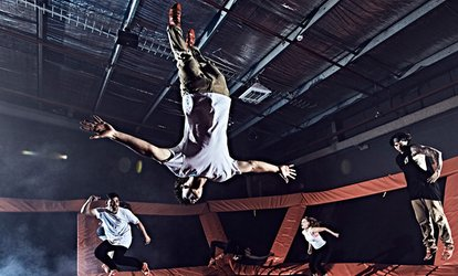 image for Two 60-Minute Jump Passes for Indoor Trampolining at Sky Zone Van Nuys (Up to 48% Off)