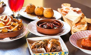 Basque Tapas & Wine: 7 -Course Spanish Degustation and Sangria for Two ($49), Four ($95) or Six ($139) at Basque Tapas and Wine (Up to $342)