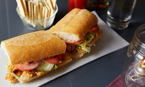 Southern Cuisine at Sleepy's Po-Boys (Up to 53% Off). Three Options Available.
