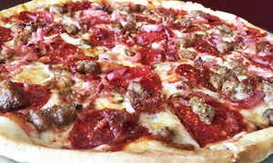 Nashville Pizza Company: Pizza, Sandwiches, Salads, and Drinks for Two or Four at Nashville Pizza Company (Up to 45% Off)