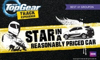 BBC Top Gear: Choice of Star in a Reasonably Priced Car Experience