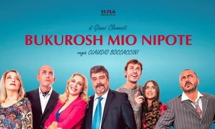Francesco Pannofino in Bukurosh: Mio Nipote   Il 15 febbraio al Teatro Mario Apollonio di Varese (sconto 50%)