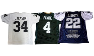 NFL Retired Player Autographed Jerseys