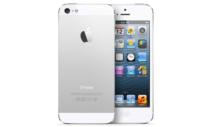 apple iphone 5s 16 32gb reconditionn groupon. Black Bedroom Furniture Sets. Home Design Ideas