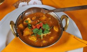 HIMALAYA PALACE: Menu indiano di carne o vegetariano da 5 portate con calice di vino a Villa Pamphili da Himalaya Palace