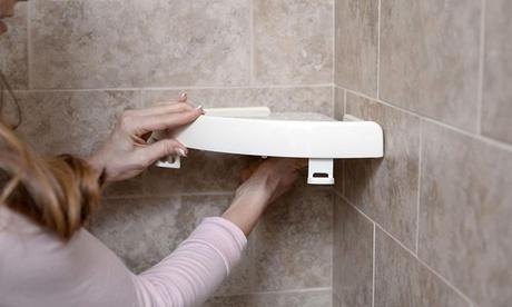 1 o 2 estantes de plástico para baños