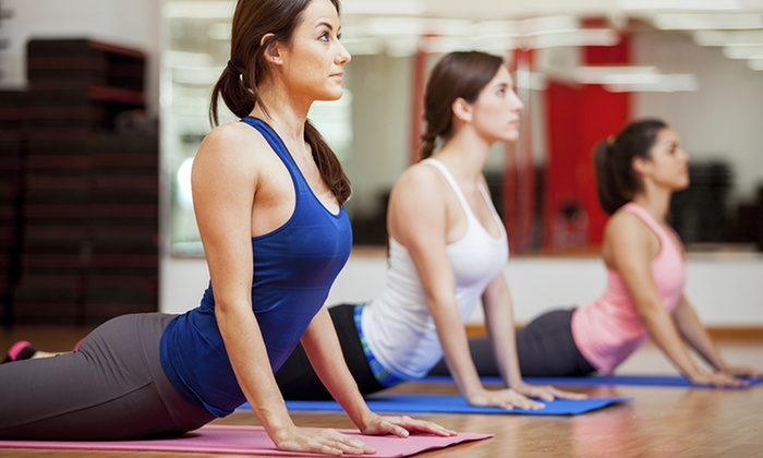 Yoga with Corinna - Memorial Hospital Neighborhood: 5 or 10 Yoga Classes at Yoga with Corinna (Up to 51% Off)