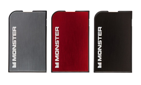 Powerbank portátil Monster de 1650mAh o 3350mAh