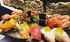 Sushi e Sashimi di coppia sul lungomare