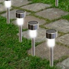 Bright LED Solar Garden Path Lights (12-Pack)
