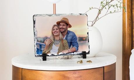 1, 2 o 3 impresiones de fotografía en pizarra personalizable en tamaño a elegir con Printerpix