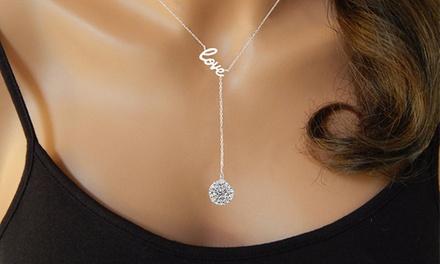1 o 2 collares Love adornados con cristales de Swarovski® desde 7,99 €