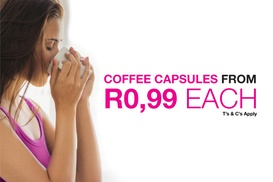 Cafféluxe - Local: Cafféluxe Coffee Capsules from R299.99 with In-Store Collection (50% Off)