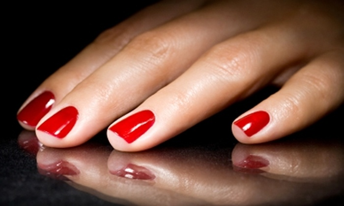 Herban Therapies Spa - Bellevue: Nail Services at Herban Therapies Spa in Bellevue. Three Options Available.