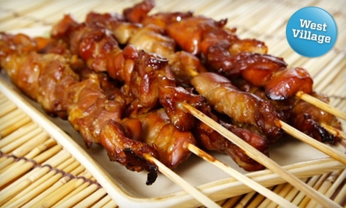 Satay Junction - West Village: $10 for $20 Worth of Dine-In Indonesian Cuisine or $25 Worth of Takeout or Delivery at Satay Junction