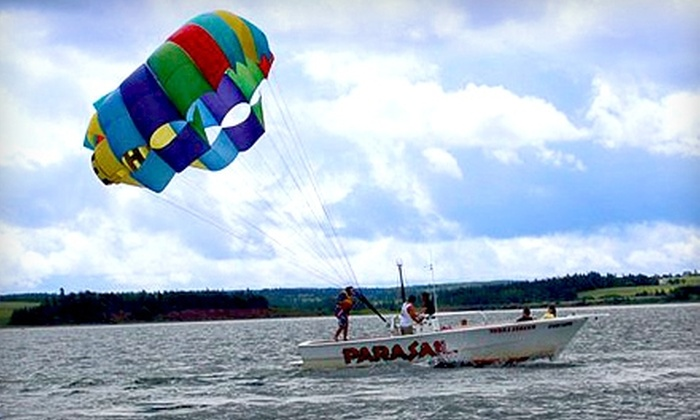 Inn at the Pier  - Stanley Bridge: One-Night Stay for Two or Parasailing Ride at Inn at the Pier in Stanley Bridge. Three Options Available.