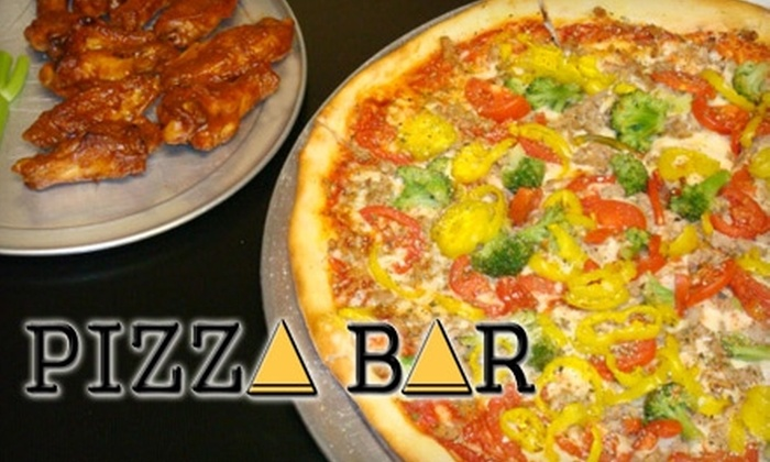 Pizza Bar - Mableton: $9 for $20 Worth of Pizza and Drinks at Pizza Bar in Mableton