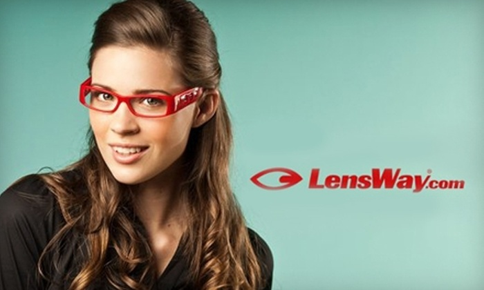 LensWay: $39 for $100 Worth of Prescription Eyewear from LensWay