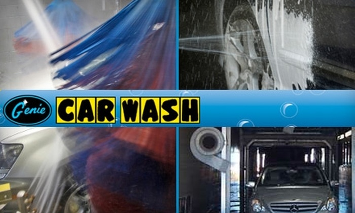 """Genie Car Washes - Multiple Locations: $39 for """"The Wizard Touch"""" Extensive Car-Wash Package at Genie Car Wash ($89.95 Value). Choose from three locations."""
