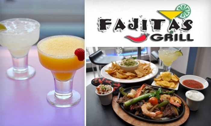 Fajitas Grill - Lower East Side: $15 for $30 Worth of Fresh, Mexican-Style Dishes and Drinks at Fajitas Grill