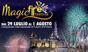 Rainbow MagicLand: Magic Fire Festival dal 29 luglio al 1 agosto al Rainbow Magic Land, il parco divertimenti di Roma (sconto fino a 33%)