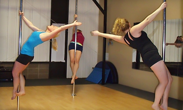 Aerial Dance Pole Exercise - Appleton: $20 for a One-Hour Group Pole Fitness Class at Aerial Dance Pole Exercise LLC ($40 Value)