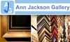 Ann Jackson Gallery - Roswell: $35 for $100 Worth of Custom Framing at Ann Jackson Gallery