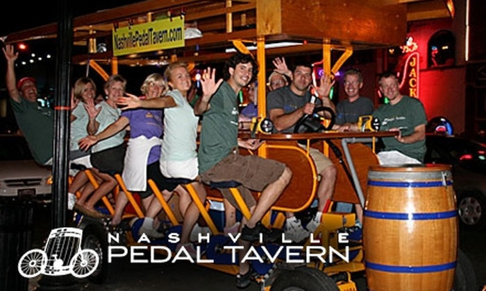 Nashville pedal tavern coupon code