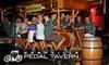 Half Off Pedal Tavern Pub Crawl
