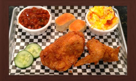 $7 for $13 Worth of Southern Food — George Wesley's Southern Kitchen