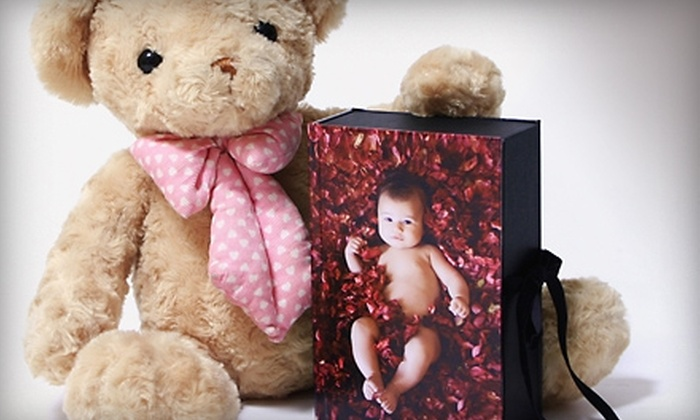 AlbumLand - Langley: $15 for a Photo-Cover Memory Box from AlbumLand ($40 Value)