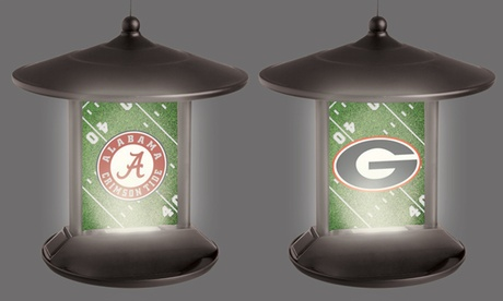 NCAA Solar-Power Light-Up Bird Feeder (Goods Sports & Outdoors Fan Shop) photo
