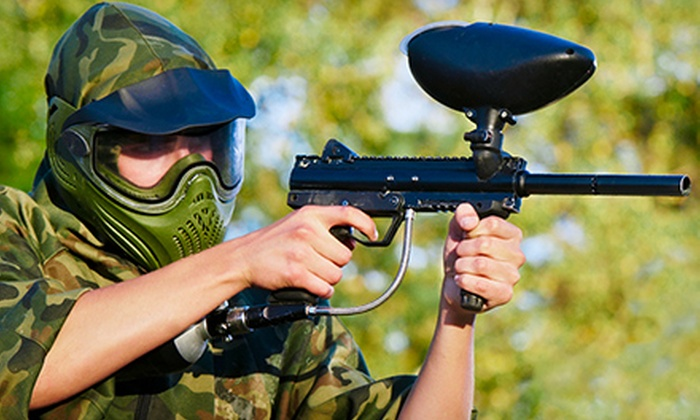 Fort Paintball - Plano: Paintball Package for Two, Four, or Eight at Fort Paintball (Up to 63% Off)