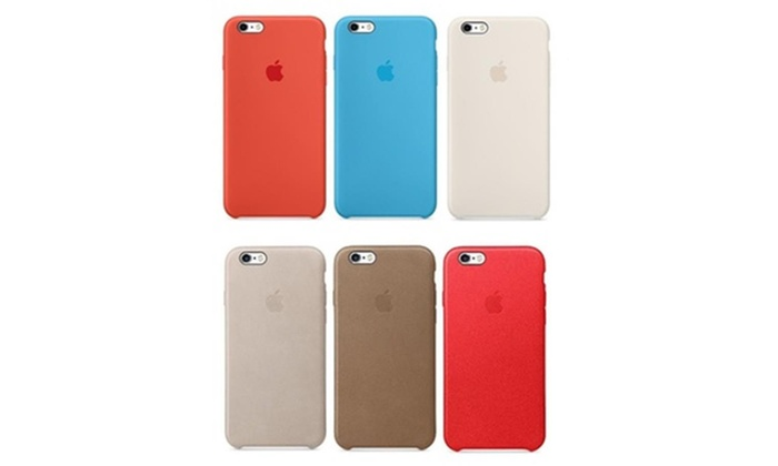 f0ca421634 Apple Silicone or Leather Cases for iPhone 6 Plus and 6s Plus