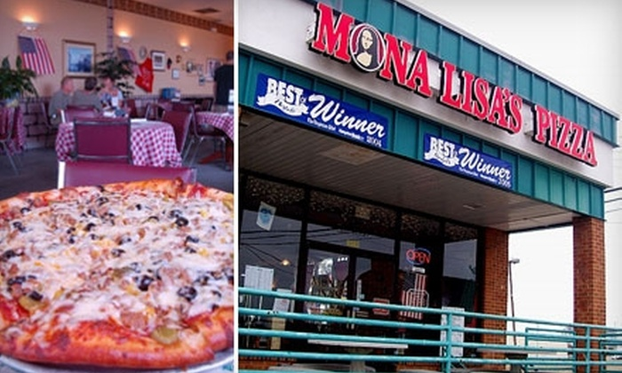 Mona Lisa's Pizza - East Ocean View: $6 for $13 Worth of Homemade Pizzas, Pastas, Sandwiches, and More at Mona Lisa's Pizza in Norfolk