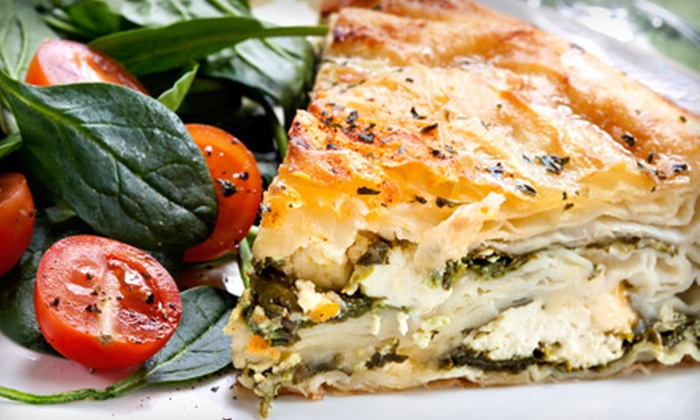 Opa - Hedrick Acres: $8 for 16 Worth of Greek Cuisine and Drinks at Opa