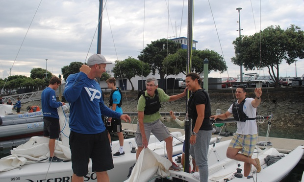 $450 for Five Three Hour Sailing Lessons or Two Full Day Lessons at Royal New Zealand Yacht Squadron