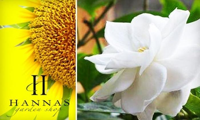Hanna's Garden Shop - Alabaster-Helena: $9 for $20 Worth of Plants, Flowers, and Garden Supplies at Hanna's Garden Shop