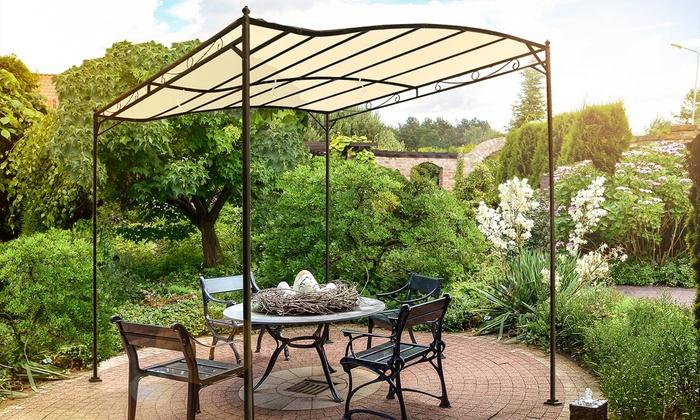 Metal garden pavilion groupon goods for Groupon giardino