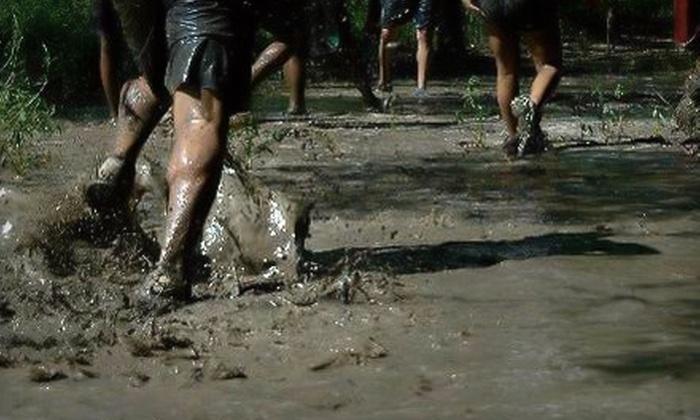 The Patriot Games 5K Mud Challenge - Sanger: $32 for Entry to The Patriot Games 5K Mud Challenge in Sanger
