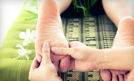 Chinese Reflexology Foot Massage and Detoxifying Ionic Footbath (a $60 value) - Chi Spa  in Eugene