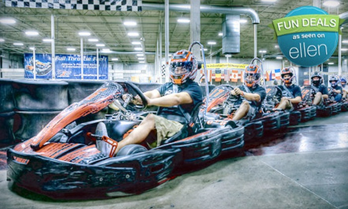 Octane Raceway (Formerly F1 Race Factory) - Camelback East: $44 for Four Kart Races at Octane Raceway (Up to $87.80 Value)