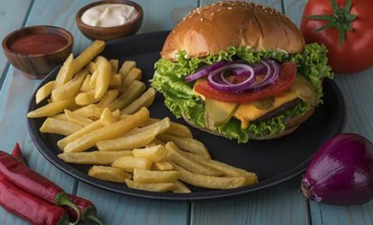 image for Burger and Fries